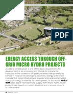 Energy Access MHPs