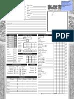 Blue Rose - Character Sheet