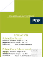 Programa Arquitectonico Centro de investigación y parque ecoturístico