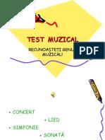 Test Muzical Genuri