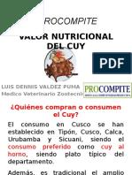 Valor Nutricional Del Cuy