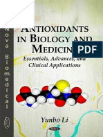 Antioxidants in Biology and Medicine - Essentials, Advances, And Clinical Applications
