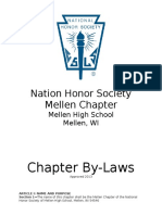 chapter bylaws