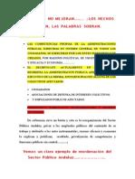 Y las cosas no mejoran, LOSHECHOS HABLAN LAS PALABRAS SOBRAN....10-7-2010 ejemplo practico de reorganización del Sector Pulico Andaluz para publicar y notificar