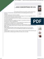 ((5) Beneficios Del Jugo Concentrado de Uva Isabella)