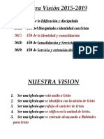 Vision - Mision - PLan 2017 ACM Hco Centro