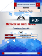Refinerias en El Mundo(Cachumba f.)