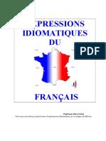 Expressions Idiomatiques Du Francais (3)