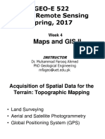 GIS - Lecture 4 - Maps and GIS II