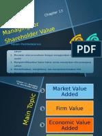 MK_ch13 - Managing for Shareholder Value