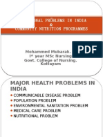 Nutritional Problems in India