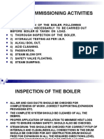 boiler Commissioning Activities