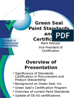Green Seal Presentation