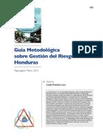 Guia Metodologica sobre Gestion del Riesgo Honduras.pdf