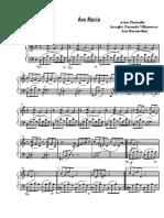 Ave María Piazzolla Cello y Piano