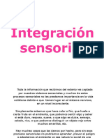 Integracion Sensorial Fisio