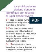 Derechos Del Ciudadano y Obligaciones 12345