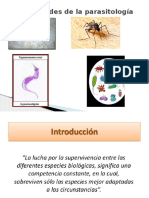 Generalidades de La Parasitología