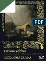 Alexandre Dumas - Crímenes Célebres (Celebrated Crimes #1-18)