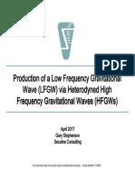 Stephenson 2017 - 3rd Int HFGW Presentation