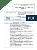 Acta Visita Soporte GRA 301015
