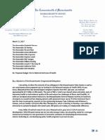 SP Letter to Delegation on NIH Funding
