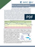 Confianza Del Consumidor (febrero de 2017)