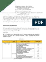 Edital PPGE 2016 2017 - Puplicado - Retificado 23.01.17