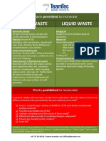 Guidelines for Safe Incineration