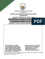 Comp. Lectura Equipo Técnico UGEL- P