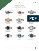 Catálogos de Relojes Rolex