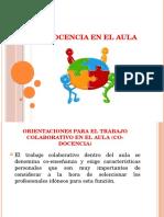Co- Docencia (Docente - Asistente Educacion)