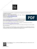 A Transaction Cost Perspective on Vertical Contractual Structure and Interchannel Competitive Strategies