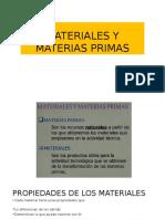 Materiales y Materia Prima 2