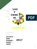 Carpeta Pedagogica de Secundaria 2017