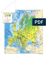 physical map of europe