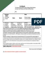 Ficha Bibliográfica y Criterios de Los Artículos 55555555555