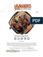 Magic The Gathering Standard-Regelbuch