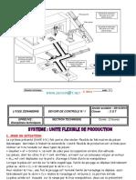 Devoir de Contrôle N°1 - Technologie unité flexible de production - 3ème Technique (2014-2015) Mr Elhadhri Ahmed.pdf