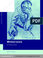 (Cambridge Studies in French) Seán Hand-Michel Leiris_ Writing the Self-Cambridge University Press (2002).pdf