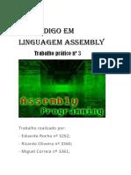 Código Em Linguagem Assembly