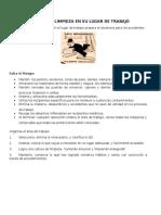 EL ORDEN Y LIMPIEZA EN SU LUGAR DE TRABAJO Boletin septiembre.docx