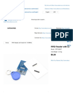 RFID Reader With Cards Kit- 13.56MHz RFID&NFC?Communication :Elecrow Bazaar, Make Your Making Electronic Modules Projects Easy.