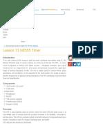 Lesson 13 NE555 Timer