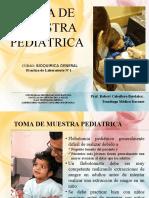 Toma de Muestra Pediatrica