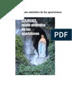 LOURDES Relato Autentico de Las Apariciones - Rene Laurentin.