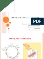 HERENCIA MITOCONDRIAL