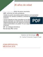 Asma Bronquial 2016