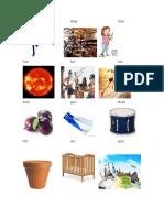 Imagenes en Ingles y Español
