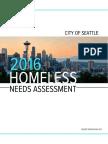 City of Seattle Needs Assesment Report Draft FINAL